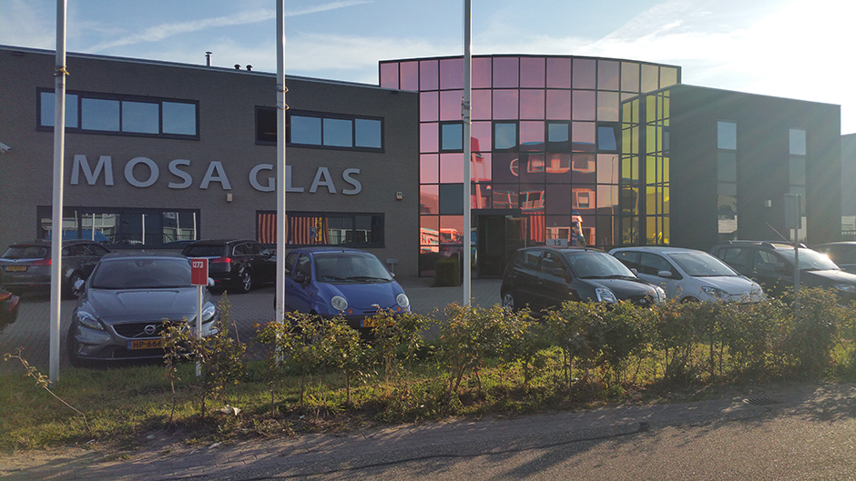 Project Mosa Glas Echt - Gevel