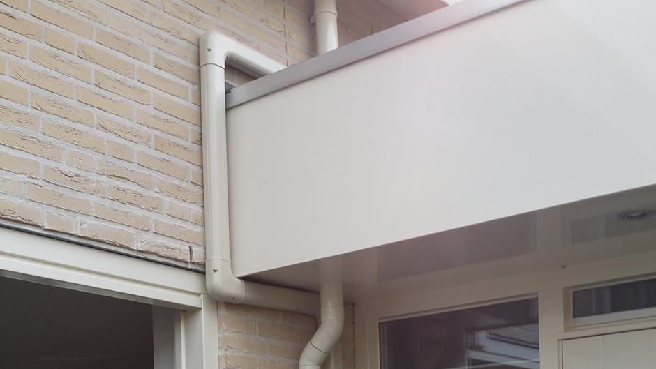 Project woonhuis Roermond afwerking gootwerk door Airco4U